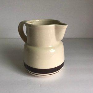 vtg ceramic jug, 1960s vintage jug, vtg pitcher
